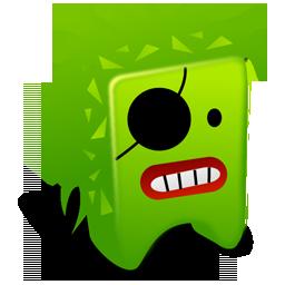 Creature, Green Icon