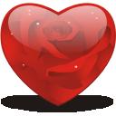 Heart, Rosy Icon