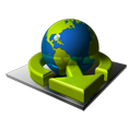 Earth, Transfer Icon