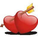 Bleeding, Hearts Icon