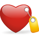 Heart, Tagged Icon