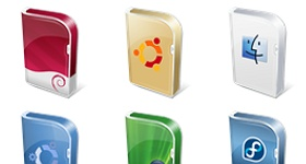 Vista Boxes Icons