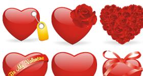 Valentines Love Icons