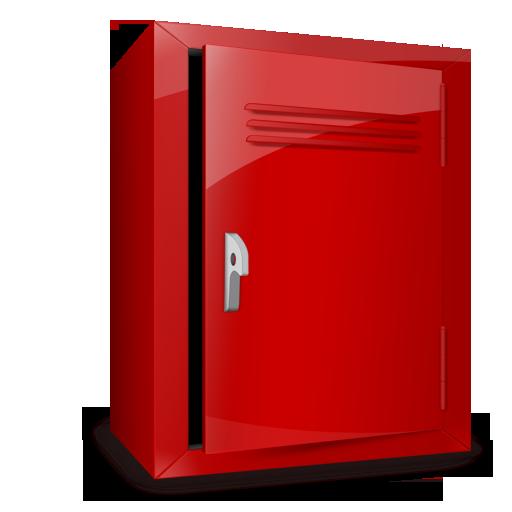 Empty, Locker Icon