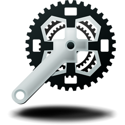 Bike Crankset Mountain Icon Download Free Icons