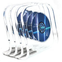 Dvd, Glass, In Icon