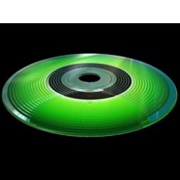 Burning, Disc Icon