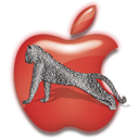Appleleopardred Icon