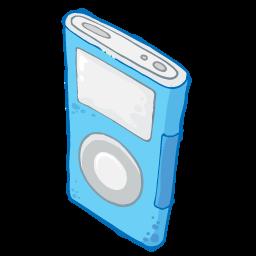 Blue, Ipod Icon