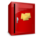 Locker, Notes, Postit Icon