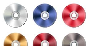 Metalic CD Icons