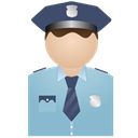 No, Policeman, Uniform Icon