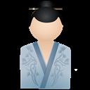 Blue, Kimono, Women Icon
