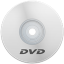 Dvd, White Icon