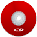 Cd, Red Icon
