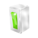 Button, Green Icon