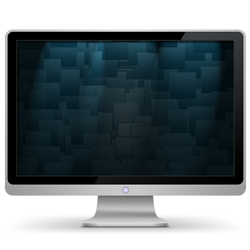 Computer, My, Shapes Icon