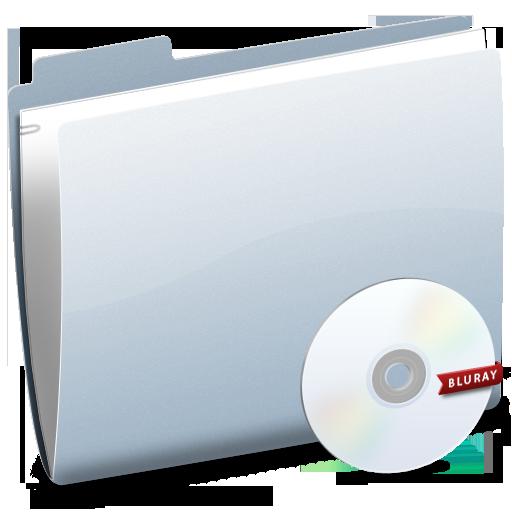 Bluray, Folder Icon