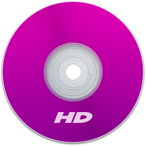 Hd, Purple Icon