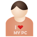 i, Love, My, Pc Icon