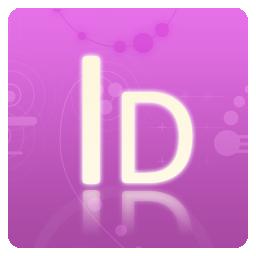 Adobe, Cs, Indesign Icon