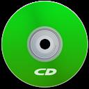 Cd, Green Icon