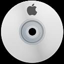 Apple, White Icon