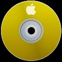 Apple, Yellow Icon