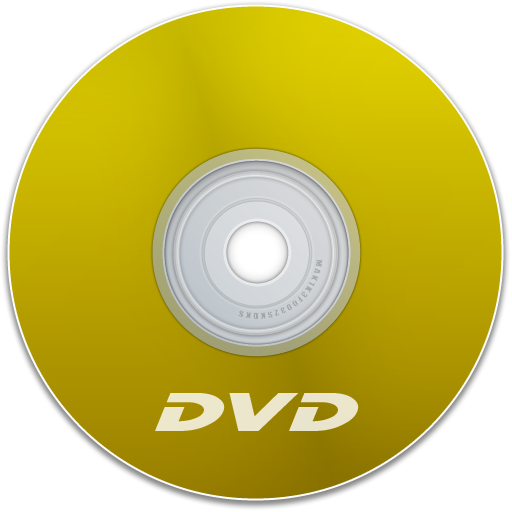 Dvd, Yellow Icon