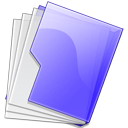 Folder, Purple Icon
