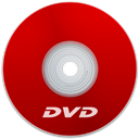 Dvd, Red Icon