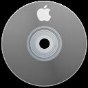 Apple, Gray Icon