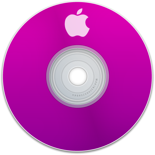 Apple, Purple Icon
