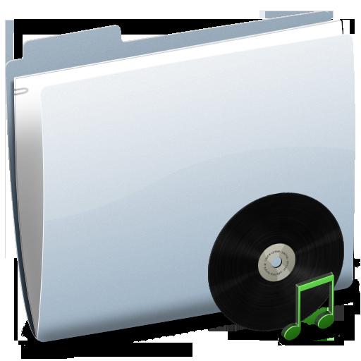 Folder, Music Icon