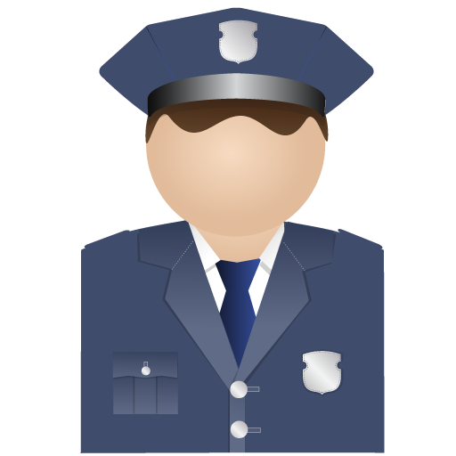 Policeman, Uniform Icon