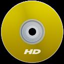 Hd, Yellow Icon