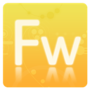 Adobe, Cs, Fireworks Icon