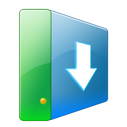 Downloads, Hdd Icon