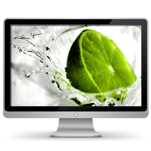 Computer, Lime, My Icon