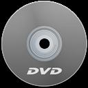Dvd, Gray Icon
