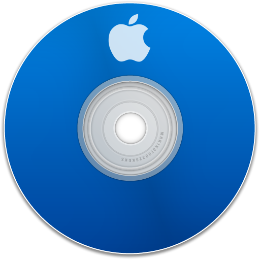 Apple, Blue Icon