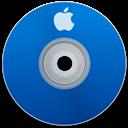 Apple, Blue Icon