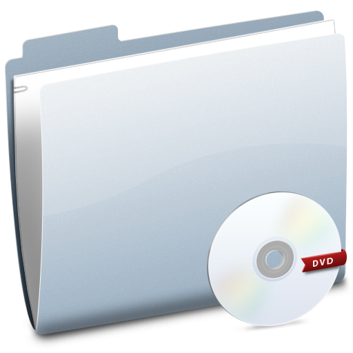 Dvd, Folder Icon
