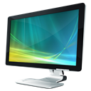 Monitor, Vista Icon