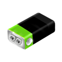 Battery, Green Icon