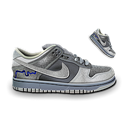 Dunk, Grey, Nike Icon