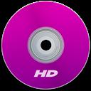 Hd, Purple Icon