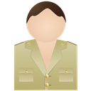 Civil, Guardia, No, Uniform Icon