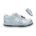 Dunk, Nike, White Icon