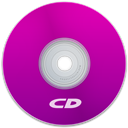 Cd, Purple Icon